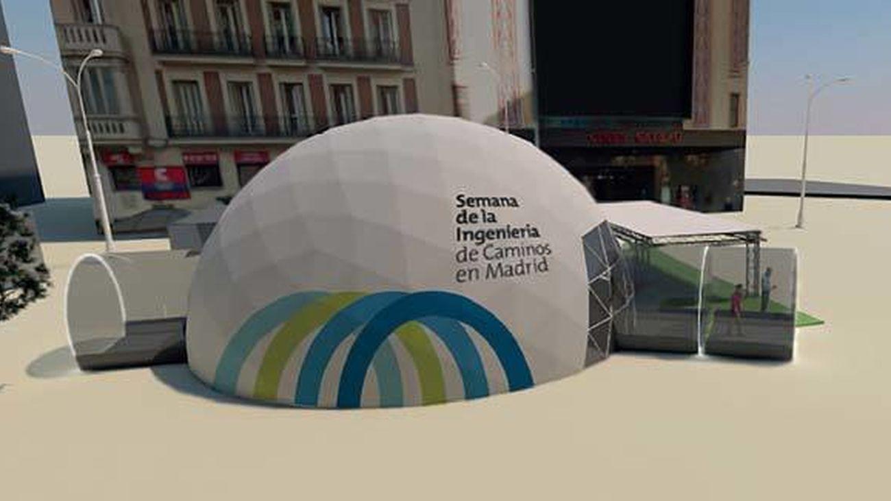 La V edición de la Semana de la Ingeniería de Caminos llega a Madrid del 1 al 6 de octubre