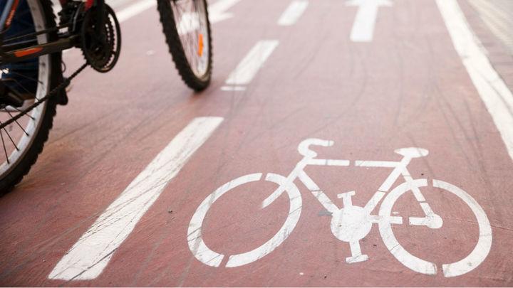 Celebran el anuncio del Ayuntamiento deMadrid de construir los 100 kms de carriles bici
