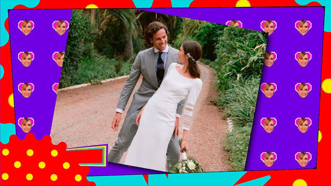 ¡Pura fantasía! Así ha sido la boda de Feliciano López y Sandra Gago