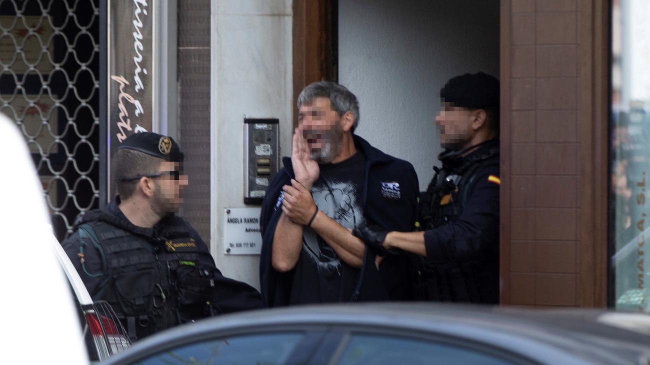 Los detenidos en Cataluña planeaban acciones con explosivos en octubre