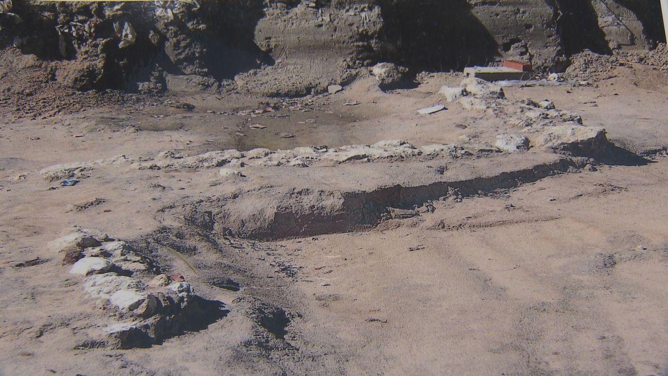 Restos arqueológicos en Carabanchel