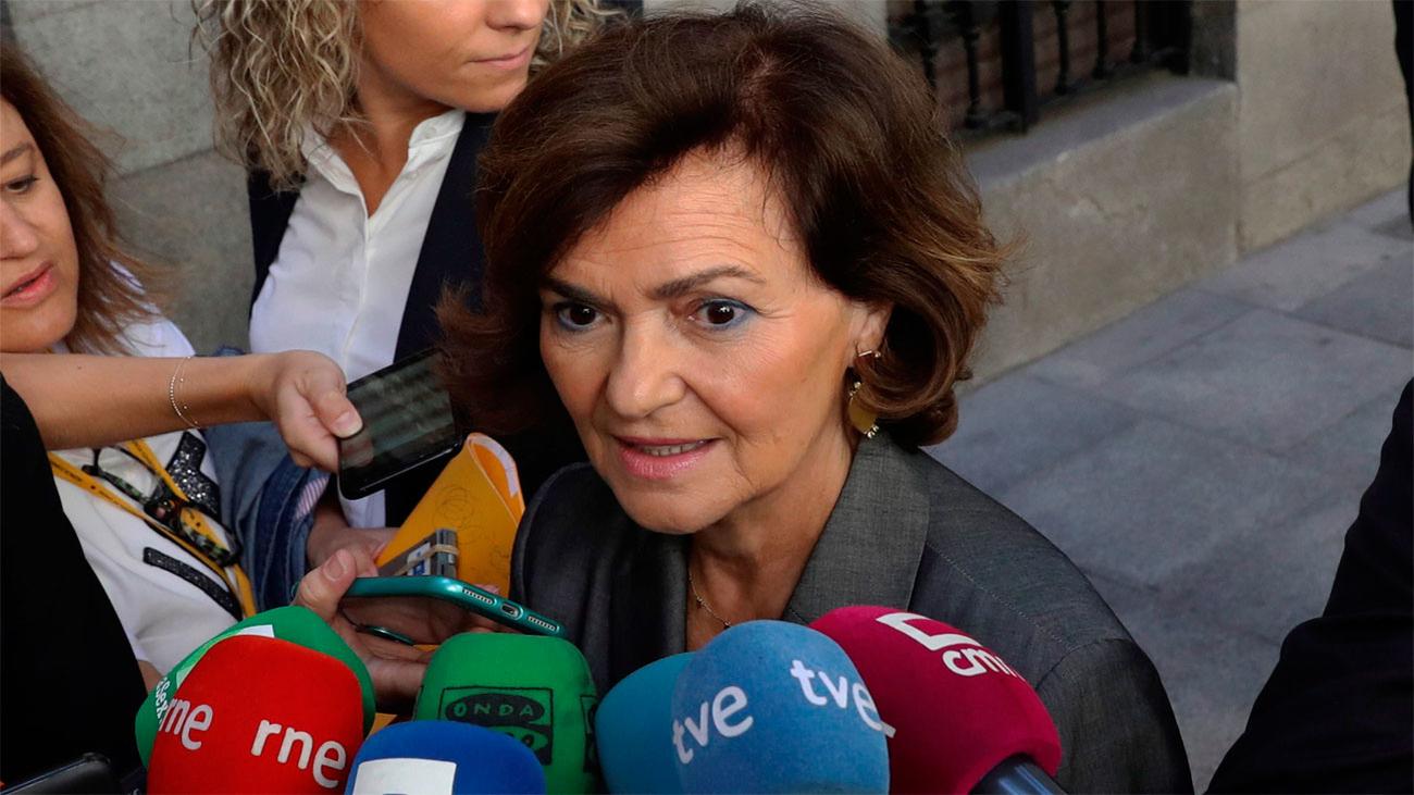 """El Gobierno quiere exhumar a Franco """"cuanto antes"""" para alejarse del 10-N"""