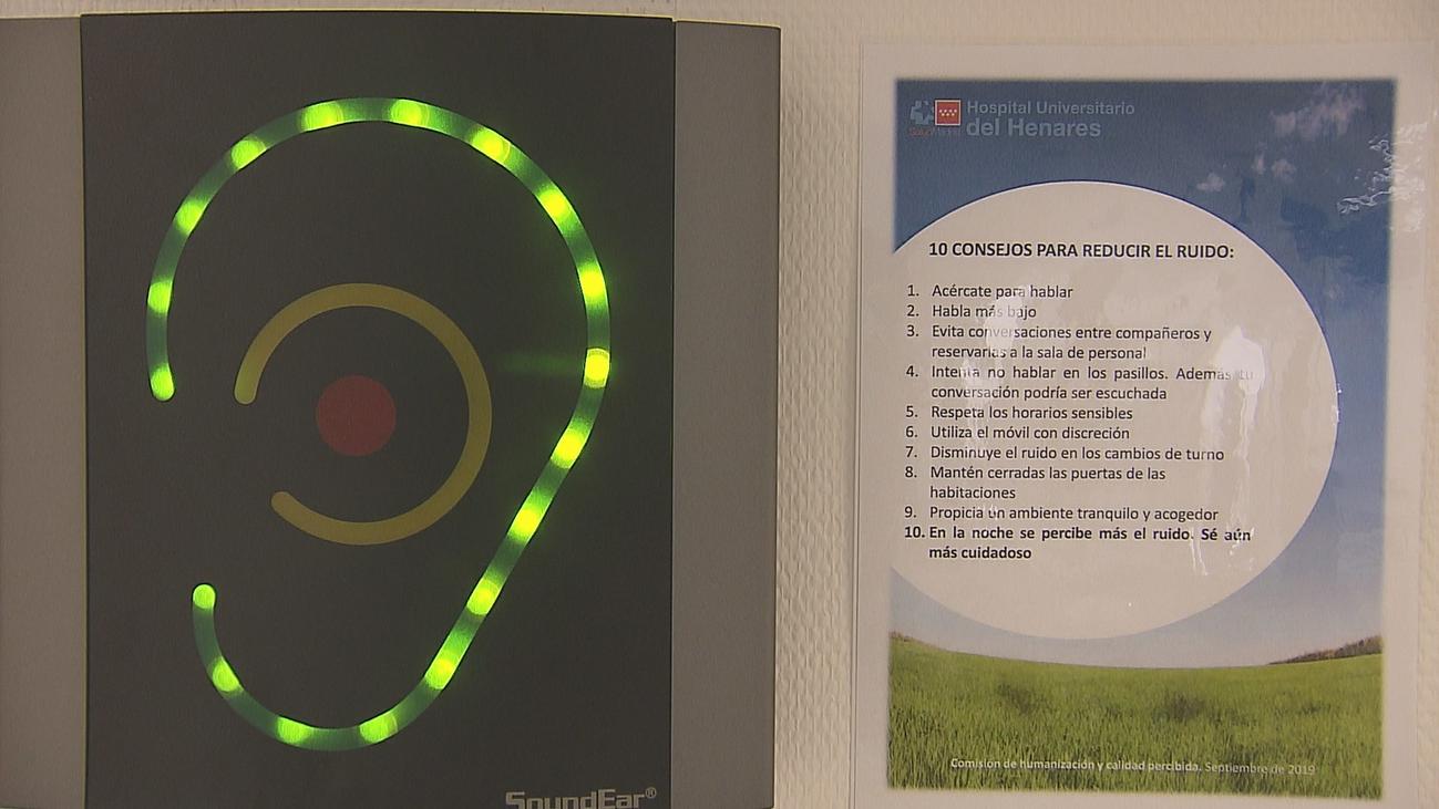 Orejas virtuales contra el ruido en el Hospital del Henares