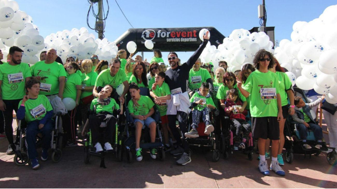 Carrera por la discapacidad en Getafe