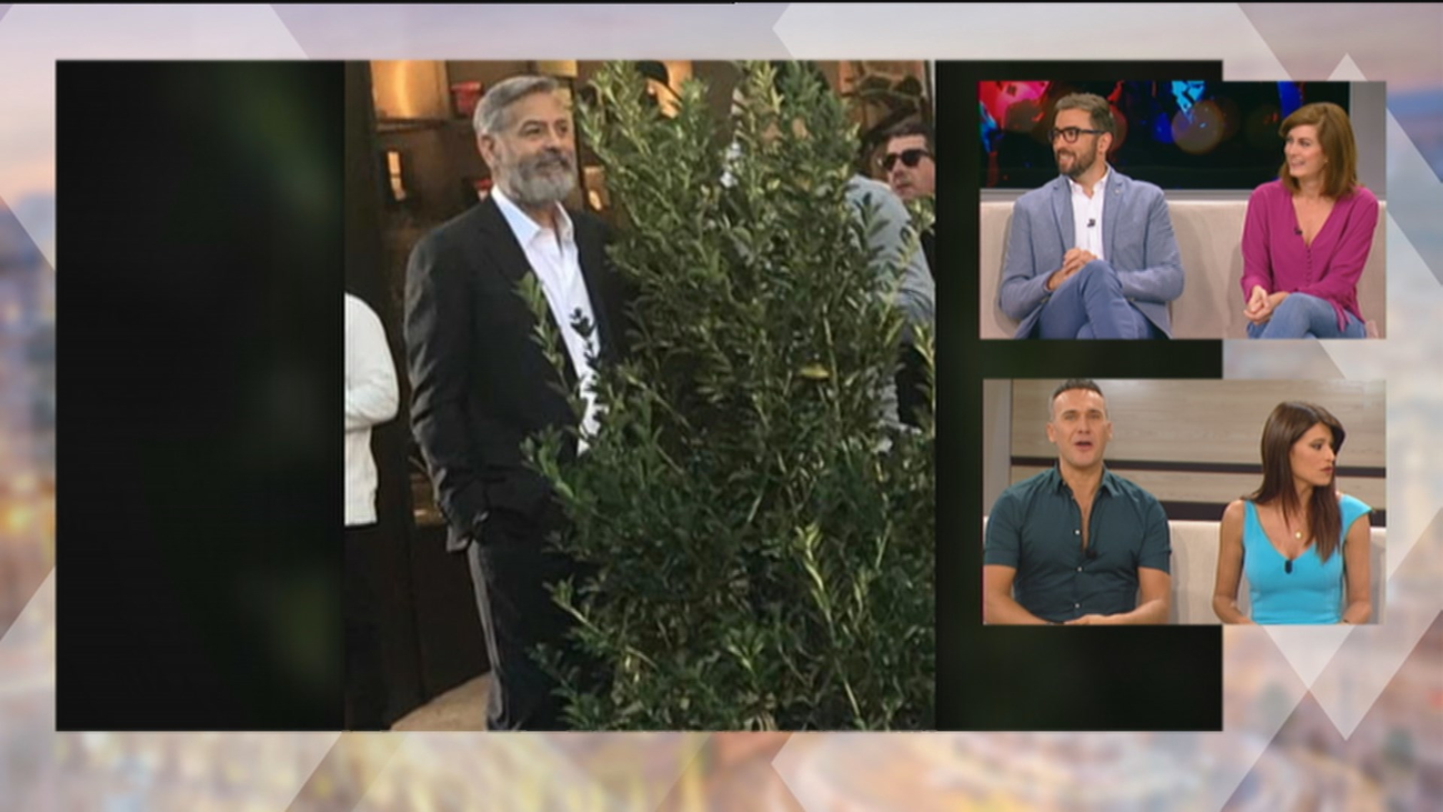 George Clooney revoluciona Navalcarnero