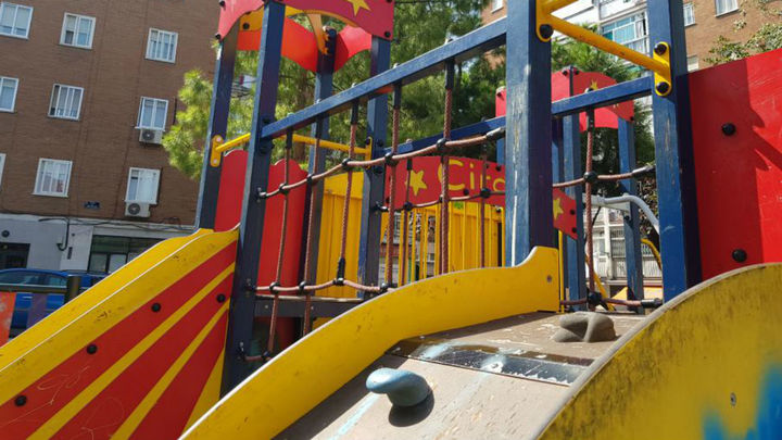 Fuenlabrada abre las primeras 25 áreas infantiles de juego