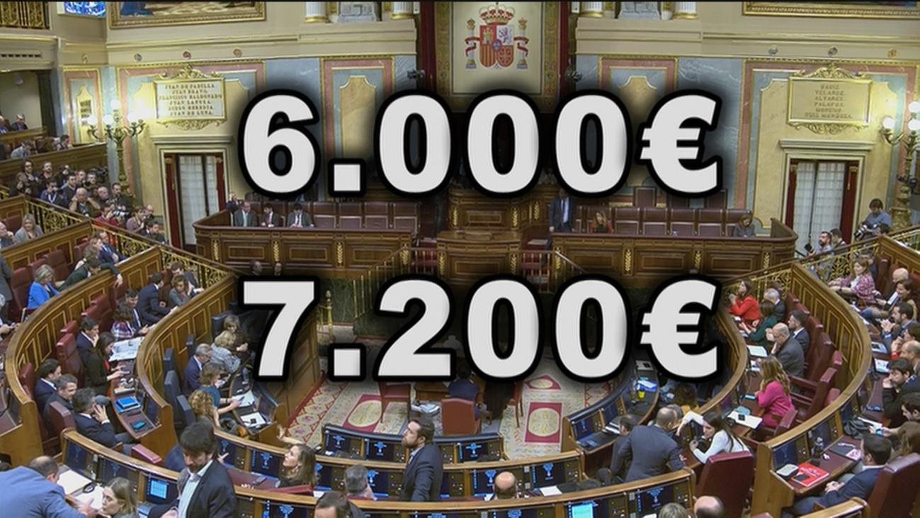 ¿Deben los diputados renunciar a la indemnización por transición de hasta 7.200 euros?
