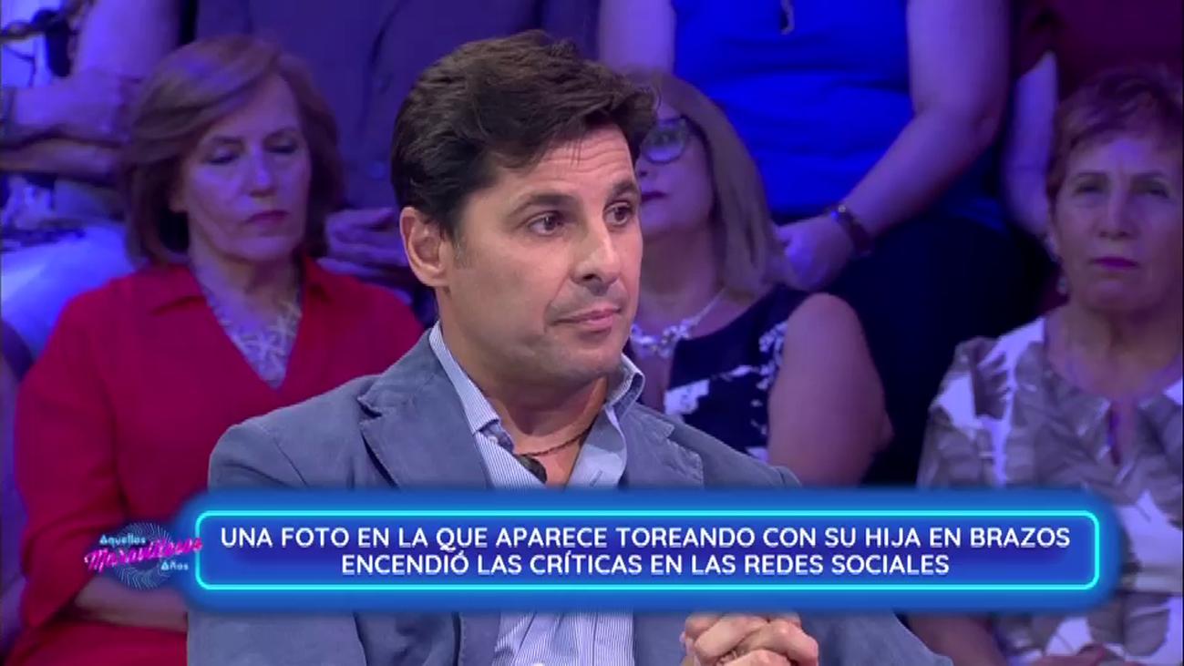 """Fran Rivera: """"Jamás perdonaré al fiscal que me acusó de mal padre"""""""