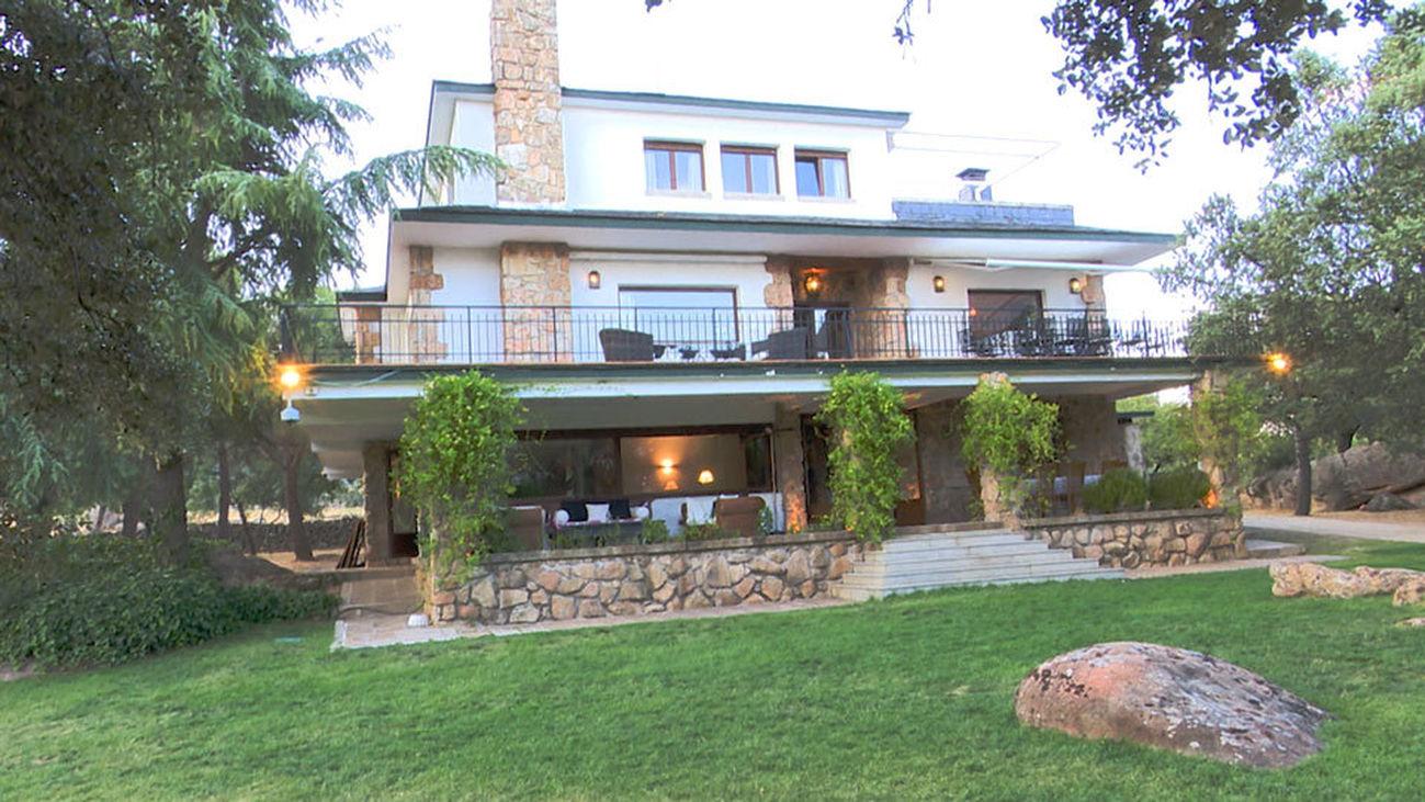 Vivir en una mansión en Guadarrama por dos millones de euros