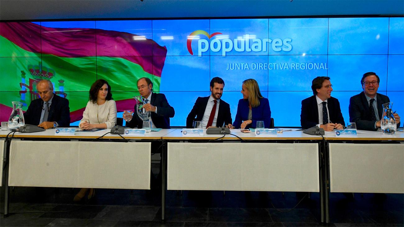 """El PP de Madrid refuerza su estructura para el """"modo electoral"""""""