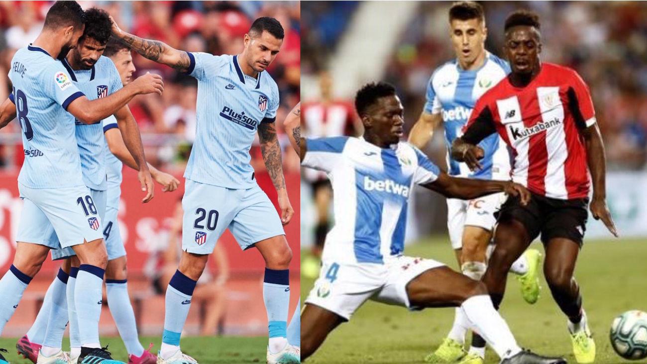 Mallorca-Atlético Madrid y Leganés-Athletic Bilbao