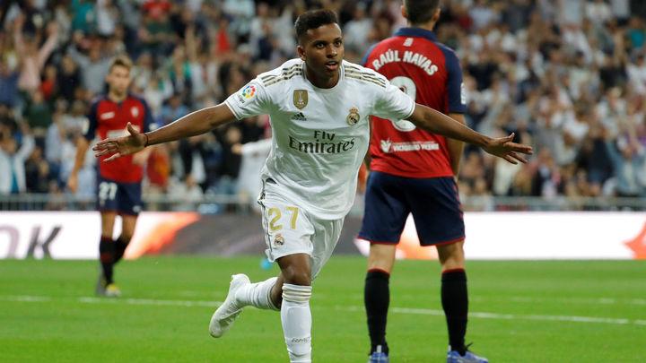 2-0. Rodrygo y Vinicius mantienen líder al Real Madrid