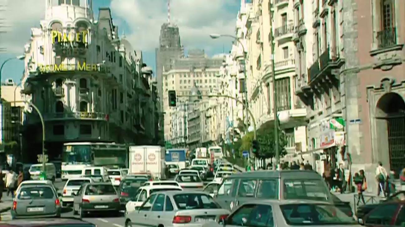 Un viaje por el Madrid de 1995