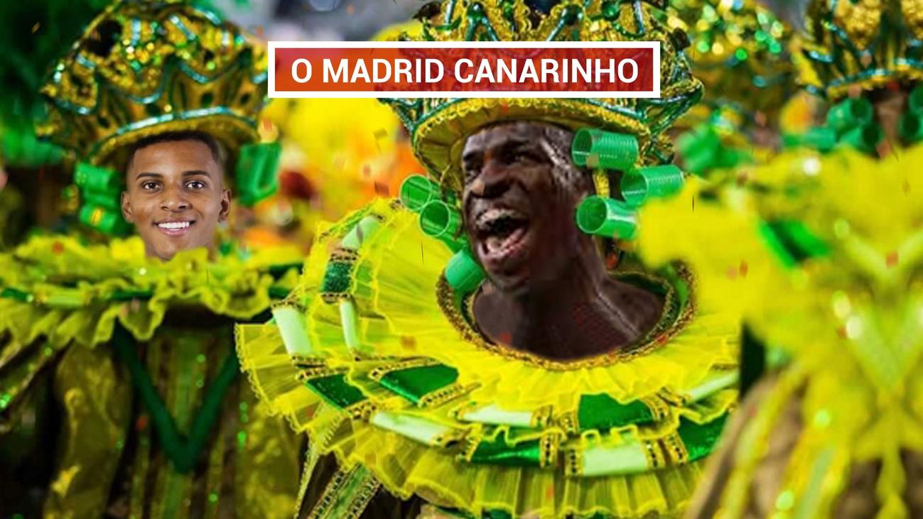 Real Madrid, un líder a ritmo de samba