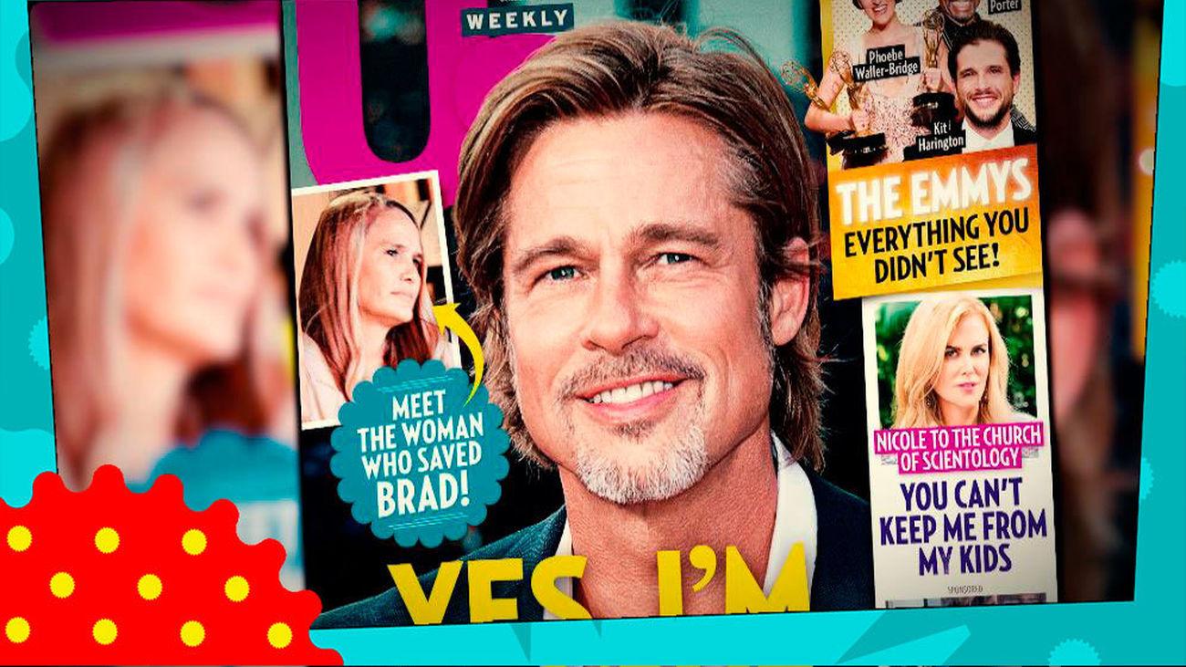 ¿Quién es la nueva novia de Brad Pitt?