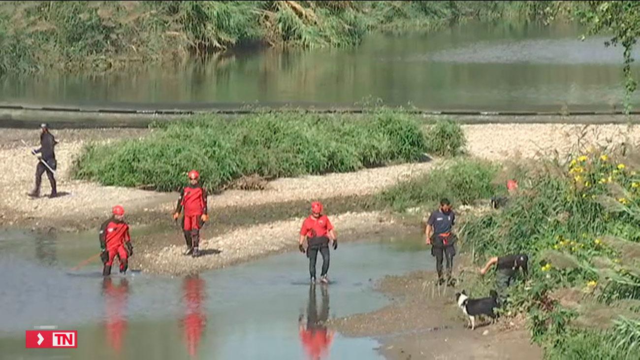 Sigue la búsqueda del bebé arrojado al río en San Adrià de Besòs