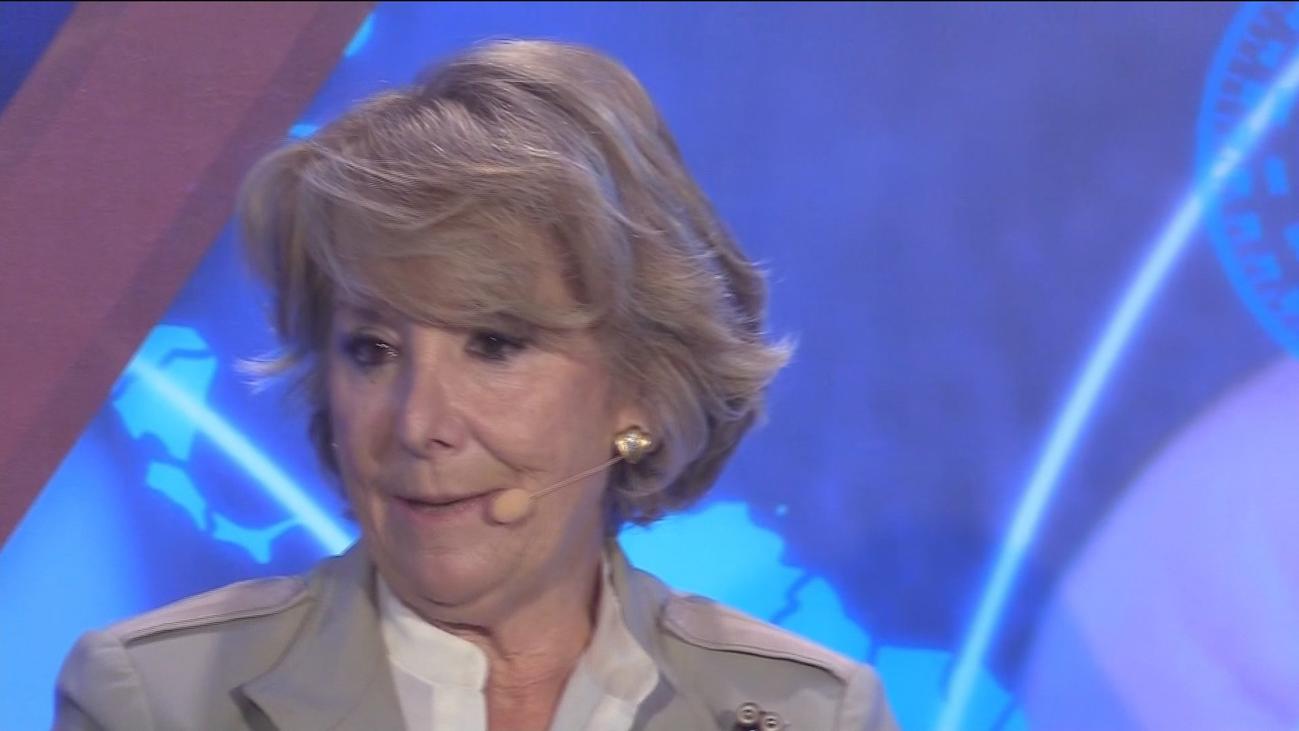 """Esperanza Aguirre: """"No hay ningún español que piense que me he llevado un duro"""""""
