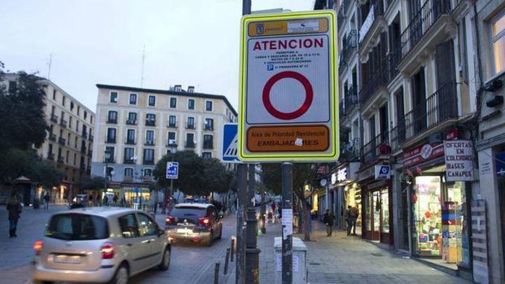 Más de 5.300 conductores residentes en 'Madrid Central, multados por falta de información