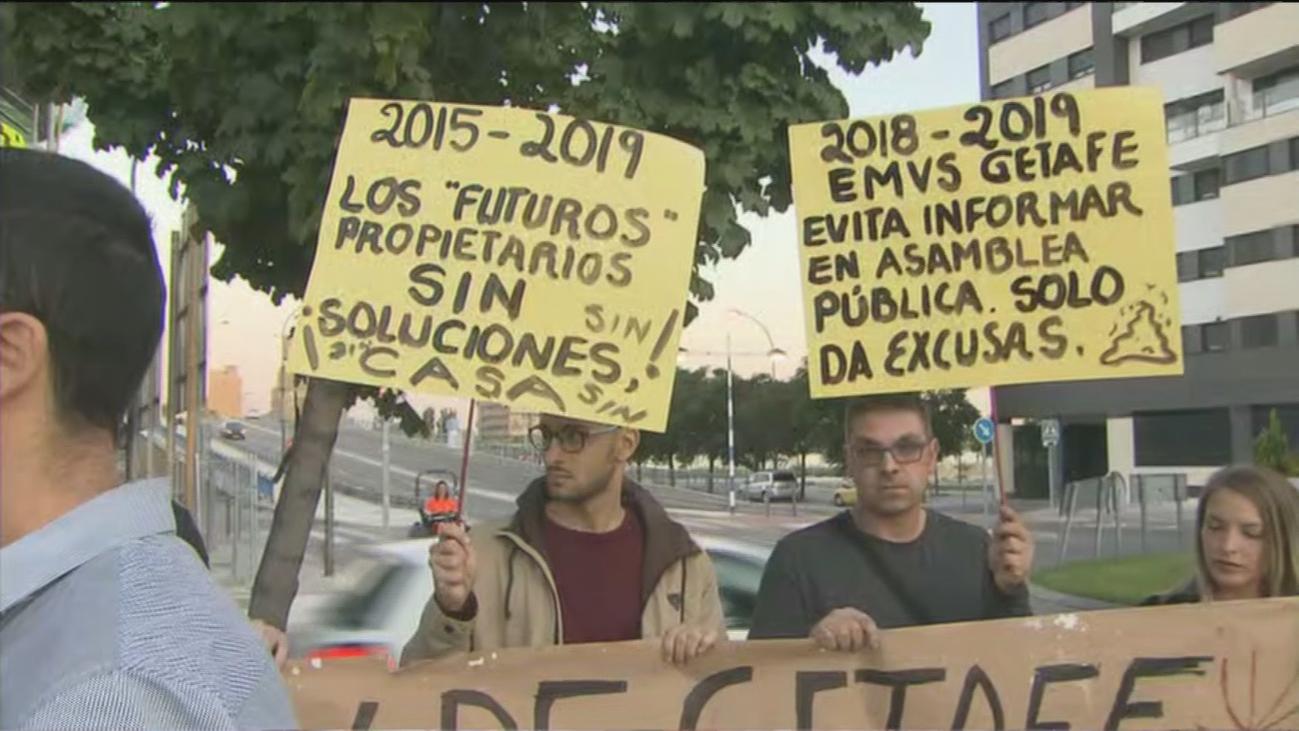 Cuatro años esperando su casa en Getafe después de haber pagado 40.000 euros