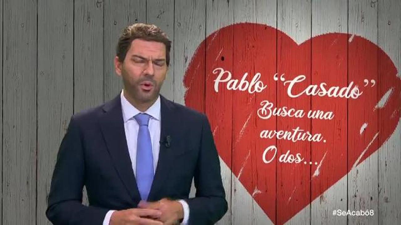 Pablo Casado acude a First Dates en busca de apoyo electoral