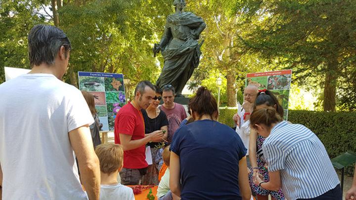 Gymkana familiar en el Botánico por la Noche Europea de los Investigadores en Madrid