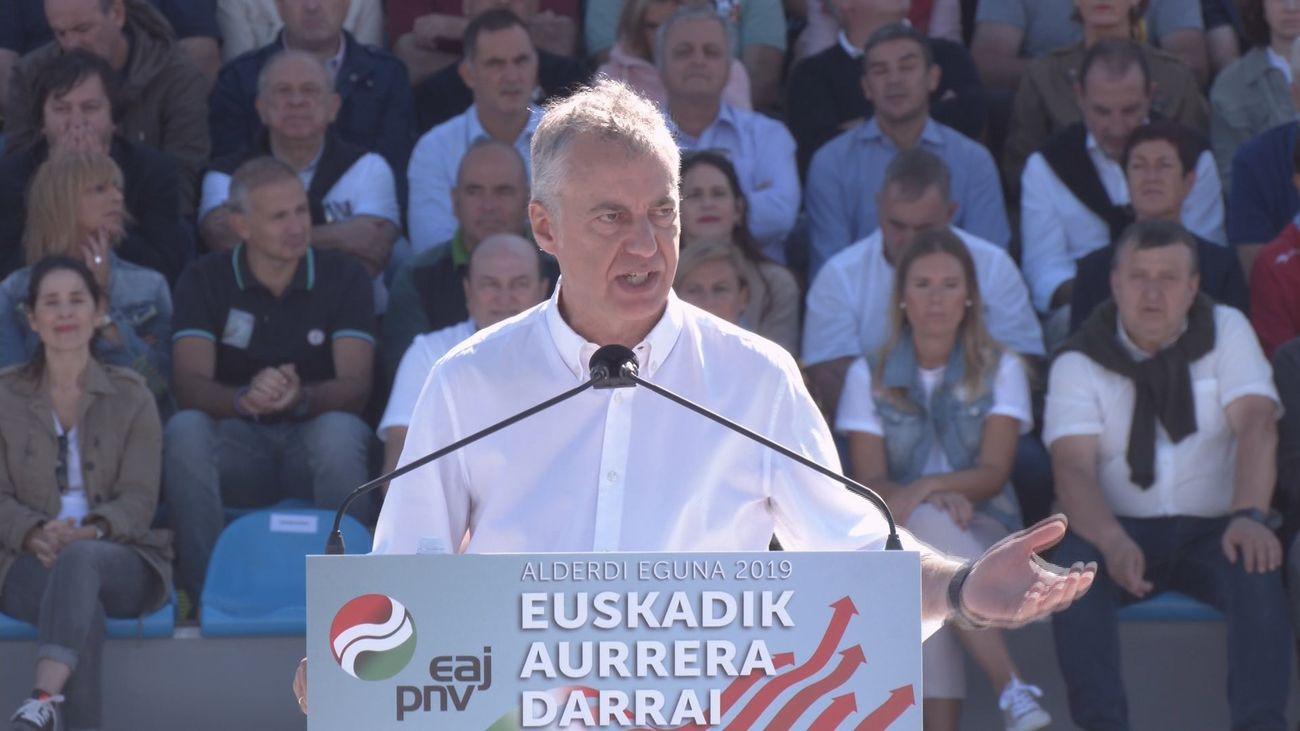 El lehendakari Iñigo Urkullu