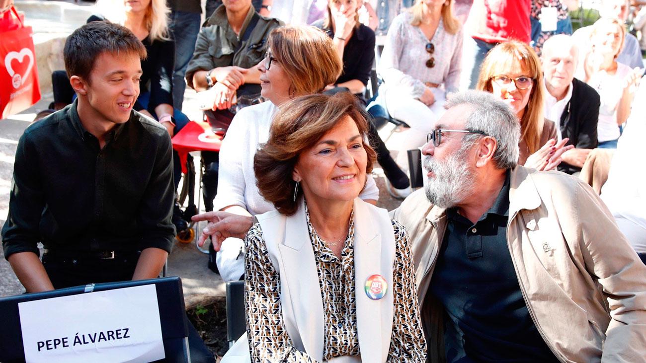 Carmen Calvo a UGT: 130 años de lucha y sacrificio para que avance la sociedad
