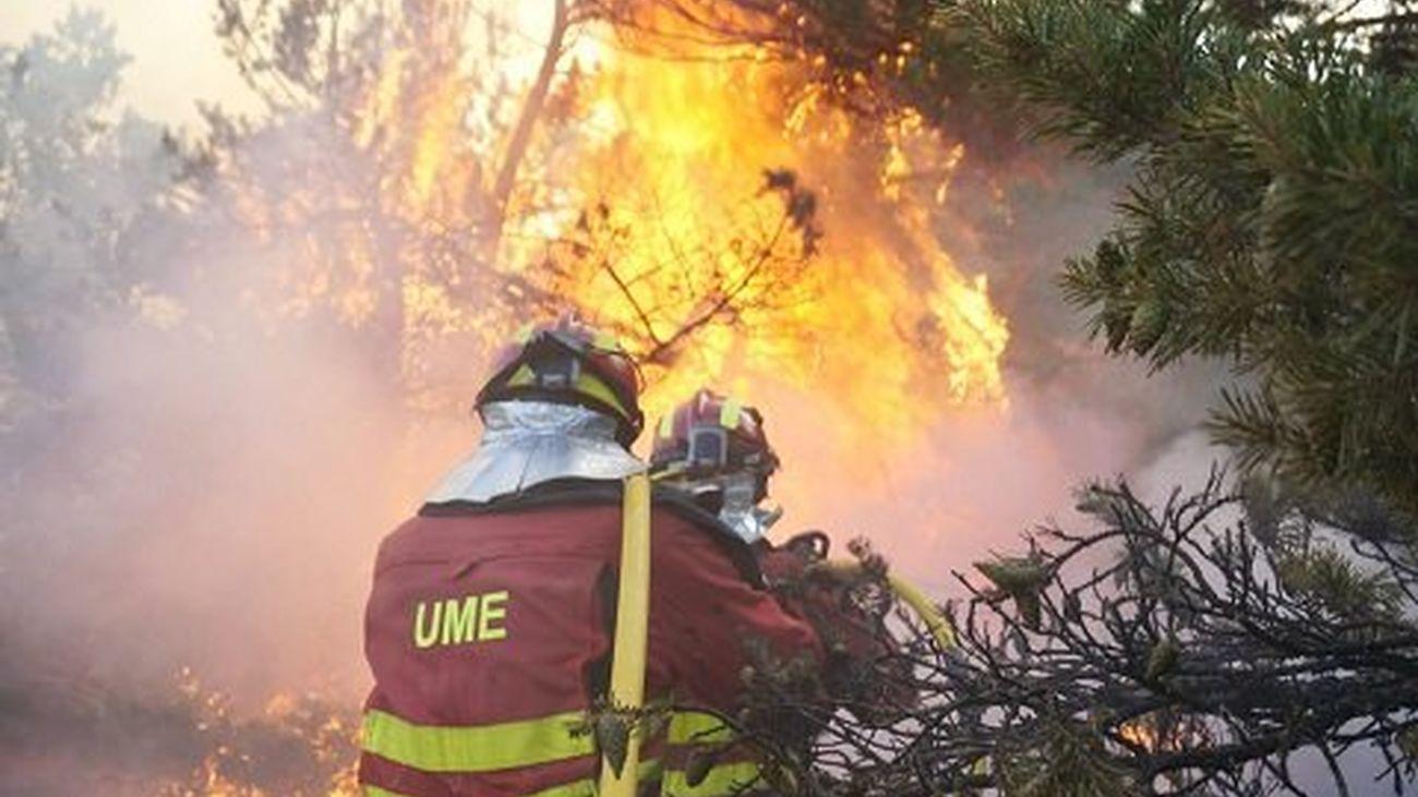 Andrés García, teniente de la UME, analiza las consecuencias del Incendio