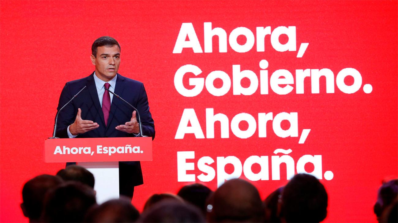 """El PSOE, según Sánchez, es """"la izquierda que no se avergüenza de España"""""""