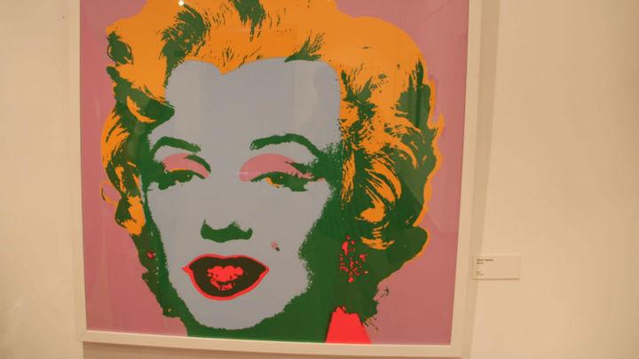 Arganda del Rey expone obras del 'arte pop' de Andy Warhol y Roy Lichtenstein
