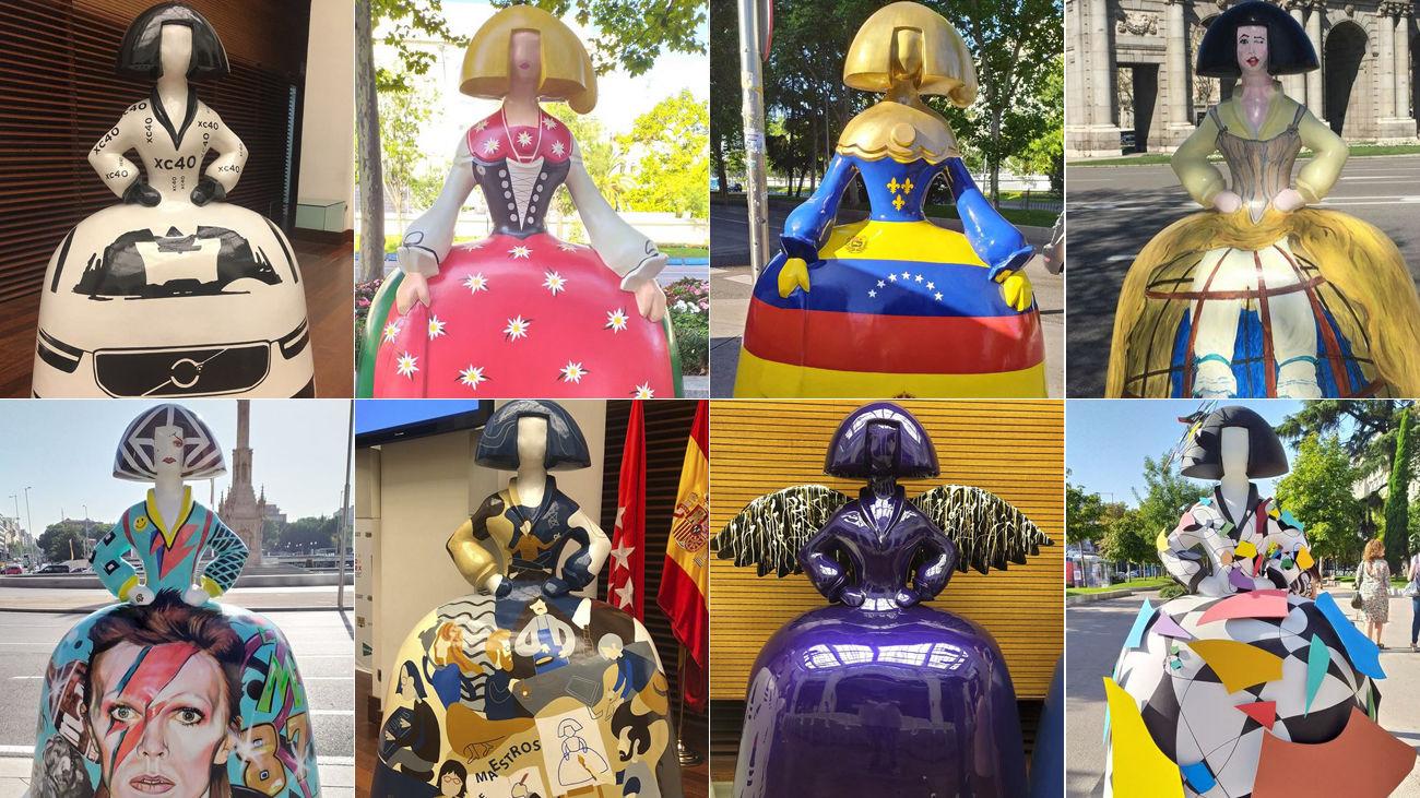 Varias Meninas que se instalan en Madrid