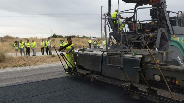 Más de medio millón de euros para mejorar la carretera que une San Agustín con Colmenar