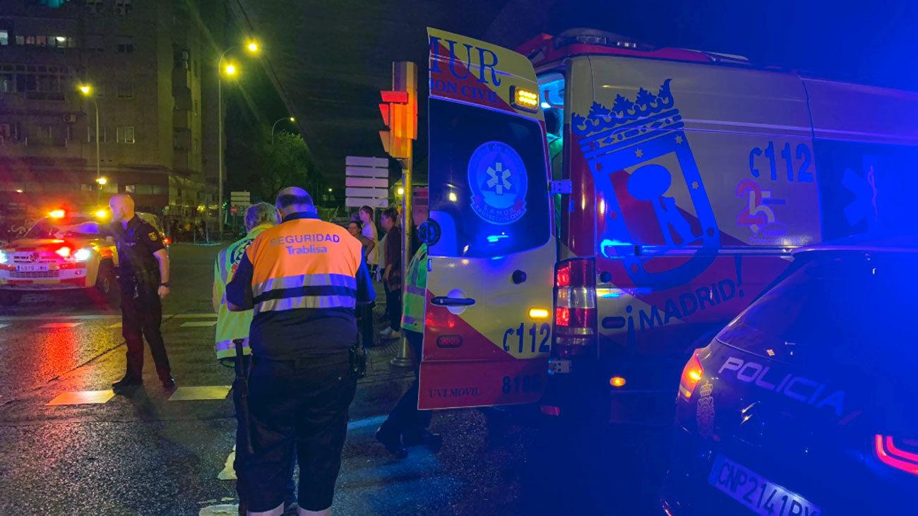 Siete heridos, varios graves, en Puente de Vallecas durante una reyerta  entre bandas
