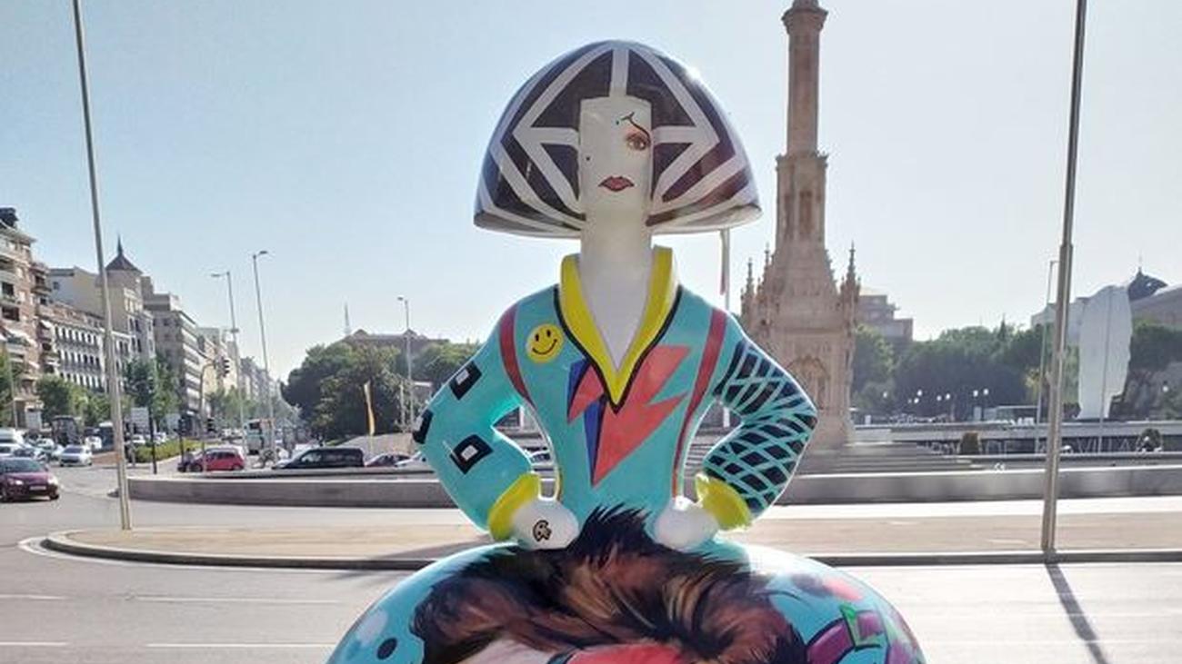 Las Meninas vuelven a salir a la calle en Madrid