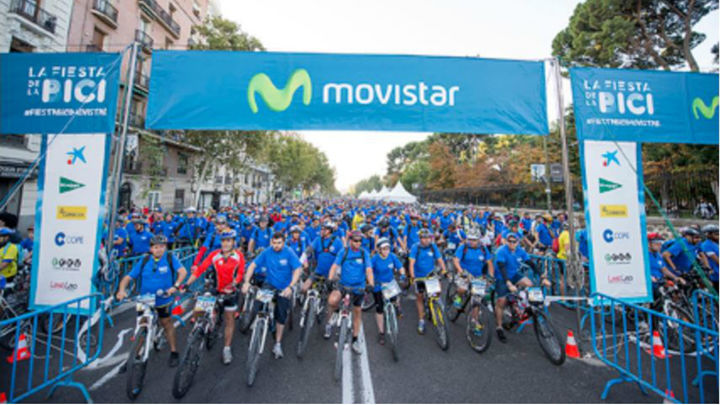 Cortes de tráfico en Madrid con motivo de la 'Fiesta de la Bici'