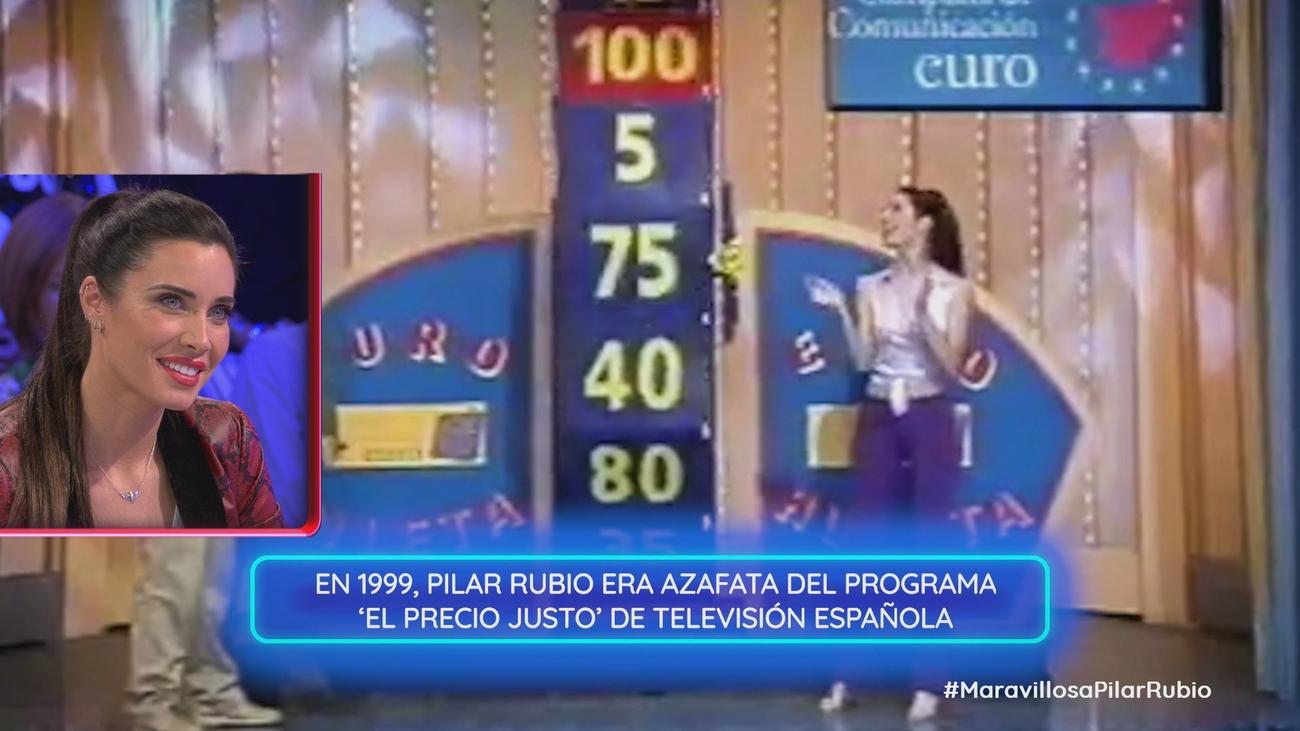 1999, el año que marcó un antes y un después para Pilar Rubio
