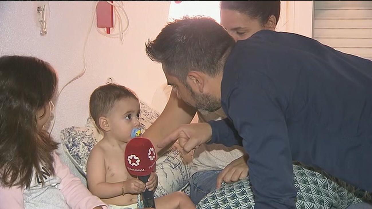 Hugo, 15 meses y un nuevo corazón