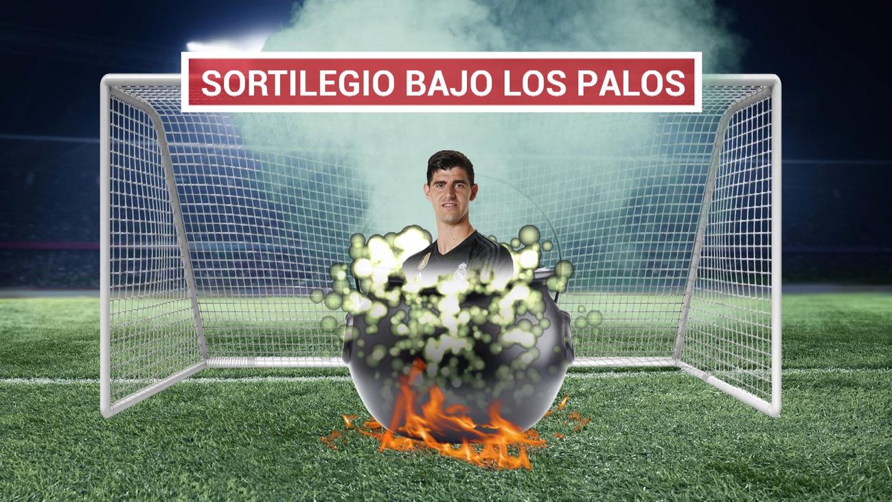 El Bernabéu, harto de Courtois