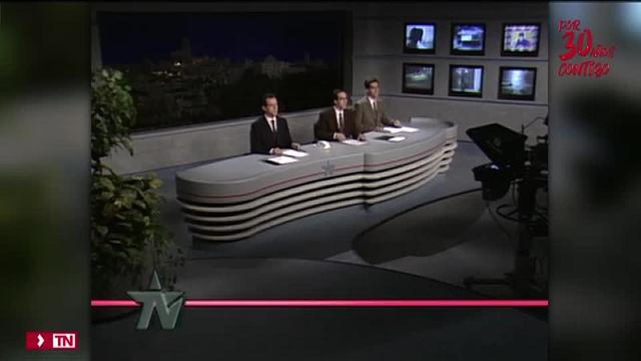 El Telenoticias de Telemadrid cumple 30 años