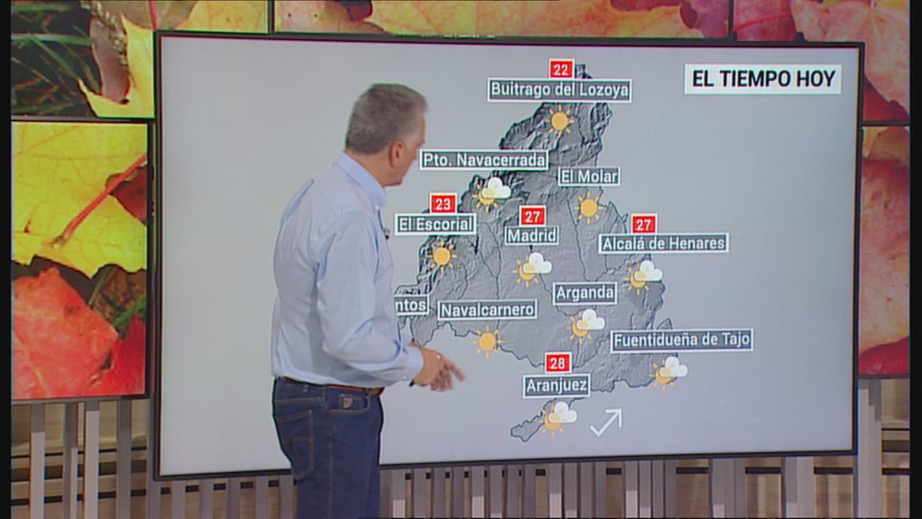 Estabilidad y temperaturas en ascenso hasta el domingo
