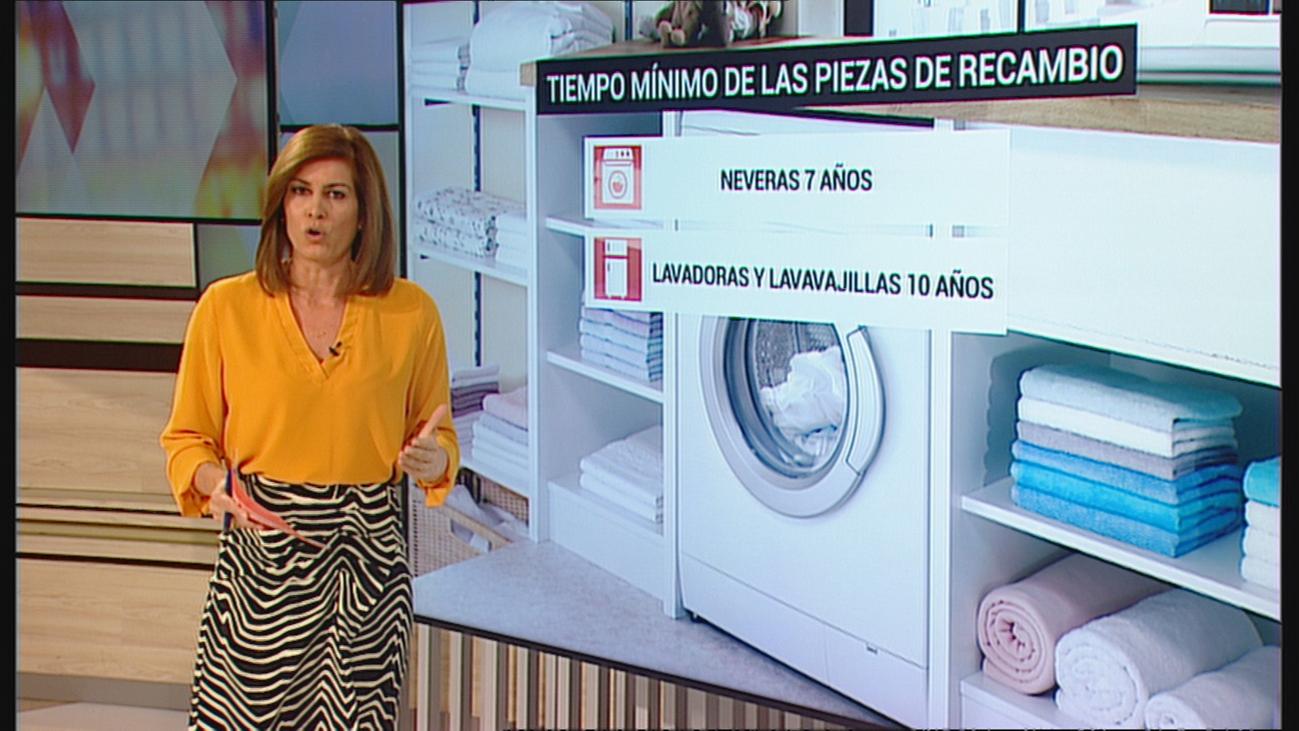 El derecho a que tu nevera o lavadora no se rompa antes de tiempo