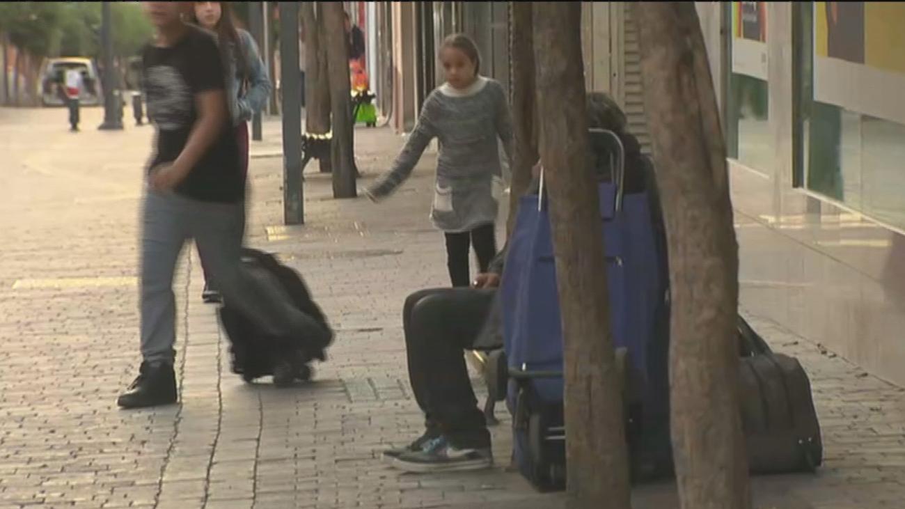 Vecinos denuncian la inseguridad que provocan los 'sin techo' de La Fortuna