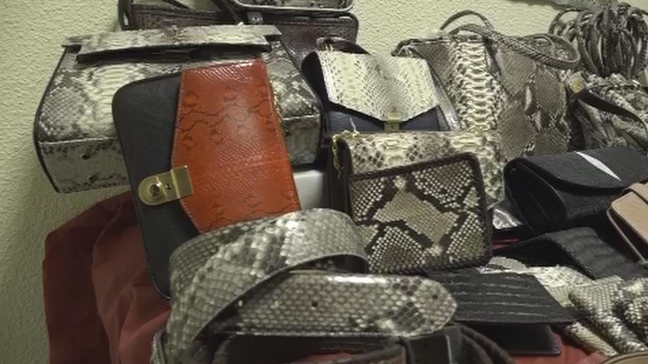 Nuevo golpe policial contra la falsificación y venta de productos hechos con pieles prohibidas