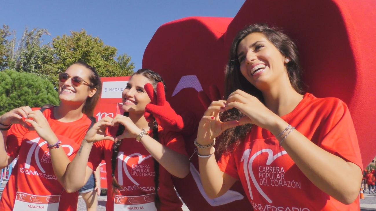 Más de 5.000 participantes en la X Carrera Popular del Corazón