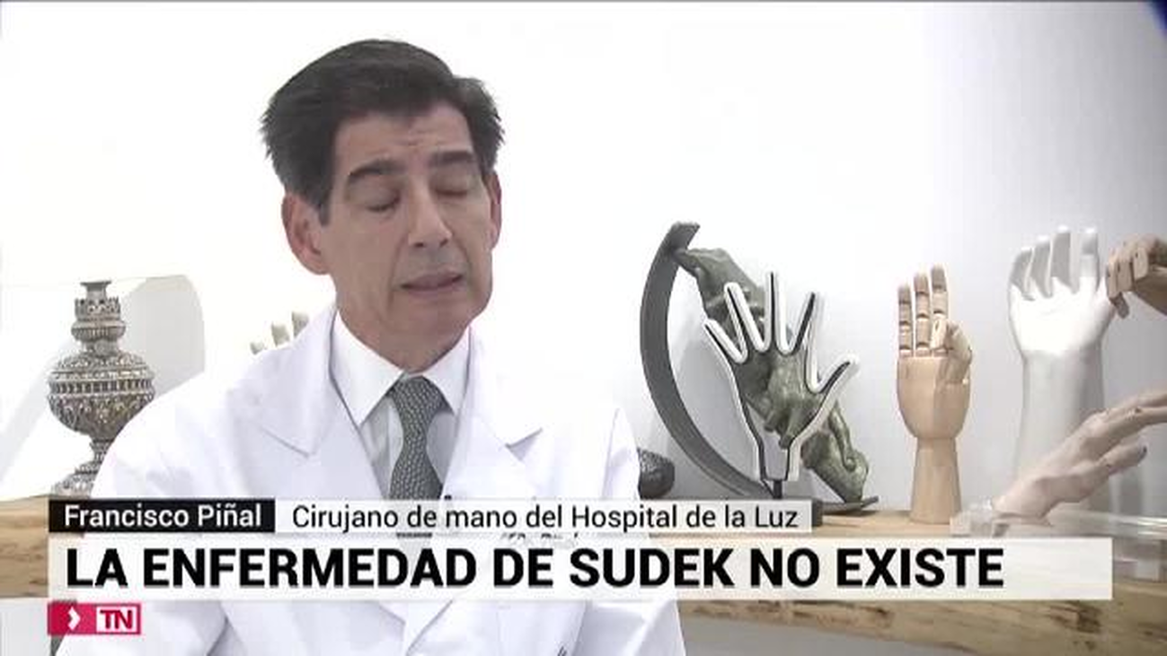La enfermedad de Südeck no existe