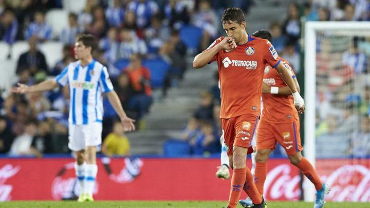 1-2. Merecida victoria del Getafe ante la Real Sociedad