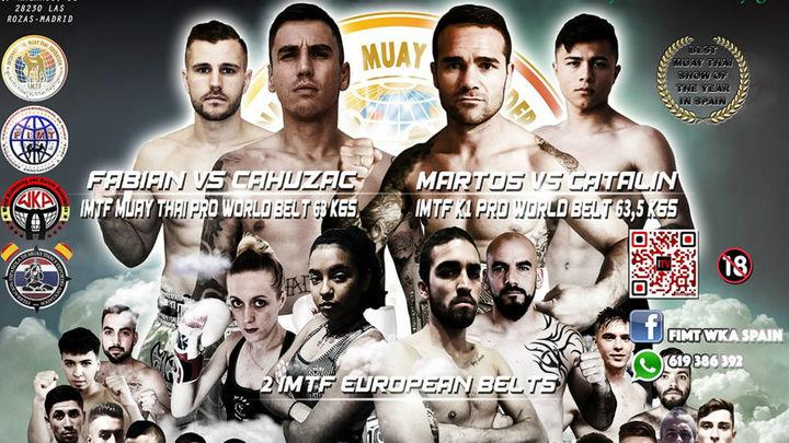 Galapagar acoge el mayor evento deportivo internacional de Muay Thai