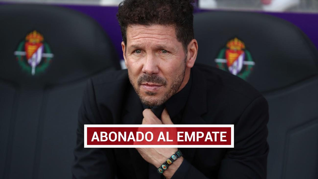 """Simeone: """"Nos falta más precisión, contundencia y rabia en los metros finales"""""""