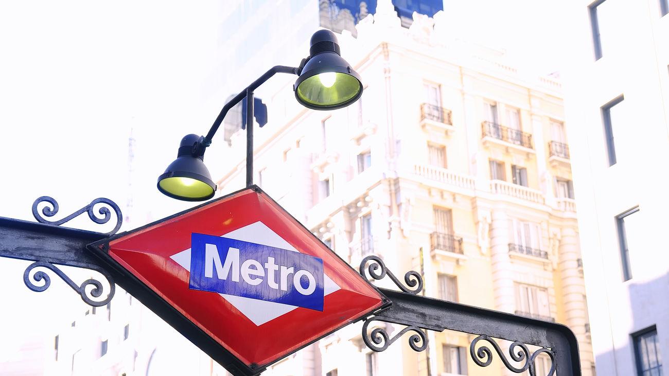 Estación de Metro en Gran Vía
