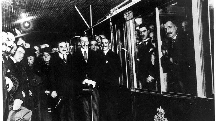 Metro de Madrid, ayer y hoy